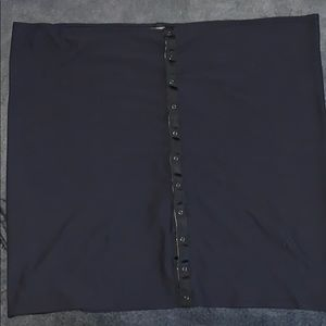 Lululemon reversible Vinyasa Scarf black/grey